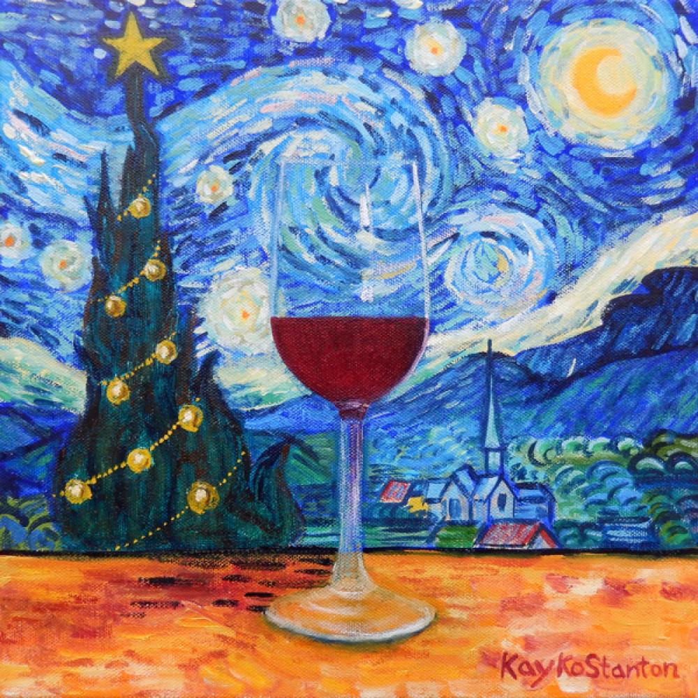 Starry Night Series Kayko Stanton Fine Art